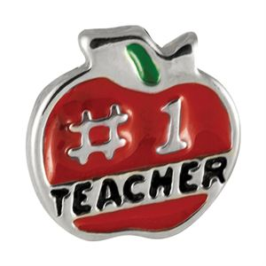 Picture of '#1 Teacher' Charm